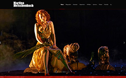 Website Design Stuttgart für Opernsängerin Welschenbach