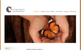 Heilpraxis Bettini - Webdesign Typo3