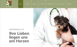 Kleintierpraxis Fleck Webdesign Stuttgart