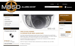 MBSD-Alarmshop WEBSEITE