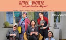 Spiel und Worte - Stadtputzfrau Esslingen - Relaunch Webdesign
