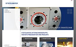 Stiefelmayer Unternehmensgruppe Website Design