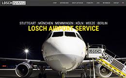 SAG Stuttgart Airport Ground Handling GmbH - CMS mit Bewerbungsformularen