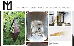 Marlon Lanziner - Künstler - Handmade Responsive Website