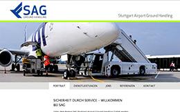 SAG Stuttgart Airport Service CMS